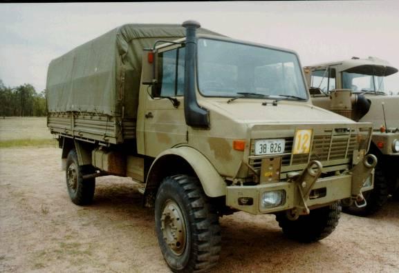 Castrol's Australian Army Unimog pics