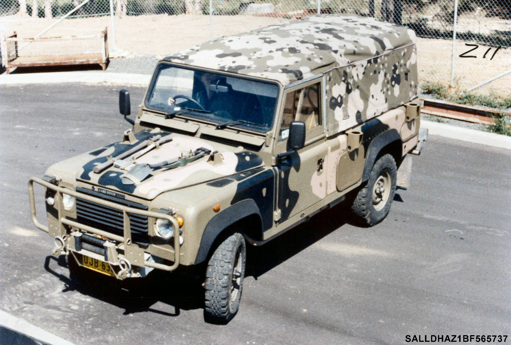 Perentie 110 Fitted For Radio Ffr Remlr Http Wwwlandroverlightweightcodiagramjpg The Engineering Development Vehicle Retained By Land Rover Australia At Moorebank