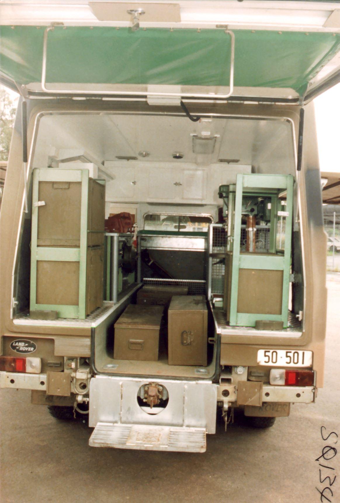 Ambulance For Sale >> Perentie 6x6 General Maintenance Vehicle - REMLR