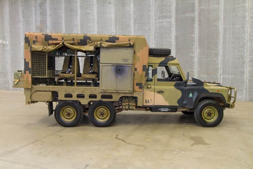 Bushranger 6x6 Mortar Carrier Remlr