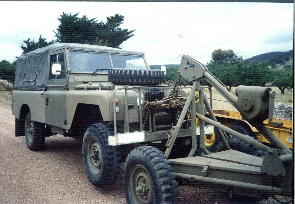 Australian Military Trailers For Land-rovers