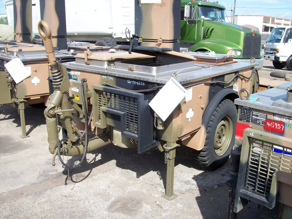 Australian Military Trailers for Land-Rovers - Mobile Field Kitchens ...