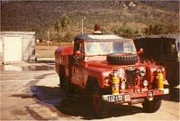 Aust Army designed 1965 supplied Fire Tender ARN 112-172
