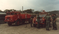 Aust Army Fire fighting unit in 1960s or 1970s SA