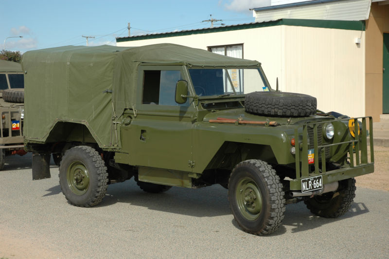 Australian Army Vehicle Colour Schemes and Paint -REMLR